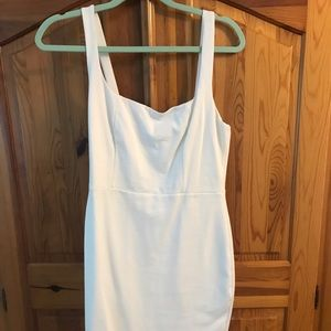 Soprano women's white Rachel bodycon dress XL